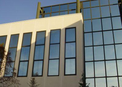 Energiebesparende folie gebouw in Zaandam