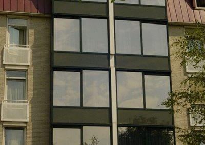 Bejaardenhuis in Bussum met spiegelfolie